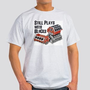 Still Plays With Blocks Light T-Shirt
