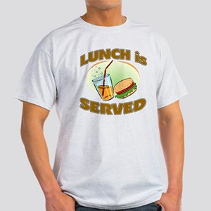 Lunch Is Served Light T-Shirt