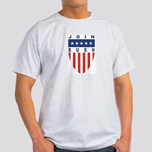 Join Jeb Bush Ash Grey T-Shirt