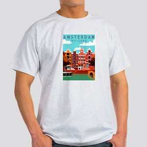 Amsterdam Holland Travel T-Shirt