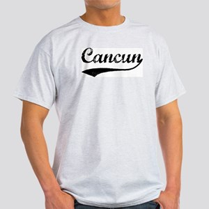 Vintage Cancun Ash Grey T-Shirt