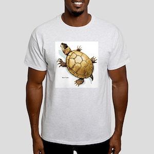2c8f85634 Mud Turtle (Front) Ash Grey T-Shirt