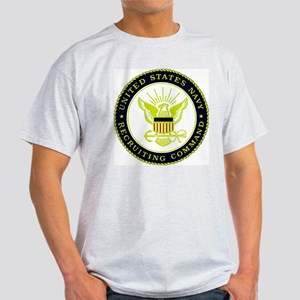 US Navy Recruiting Command Light T-Shirt