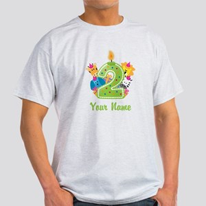 CUSTOM 2 Years Old Green T-Shirt