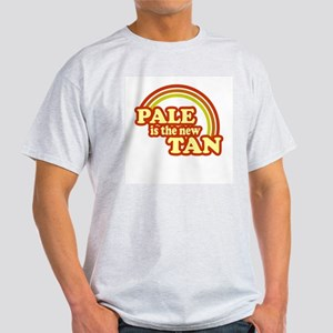 Pale is the new Tan Ash Grey T-Shirt