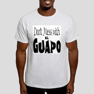 El Guapo  Ash Grey T-Shirt