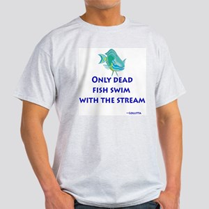 Dead Fish Ash Grey T-Shirt