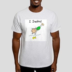 Girl I Swim Light T-Shirt