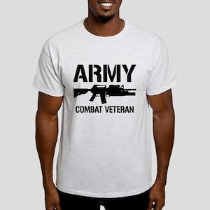 ARMY M4 Combat Veteran Light T-Shirt
