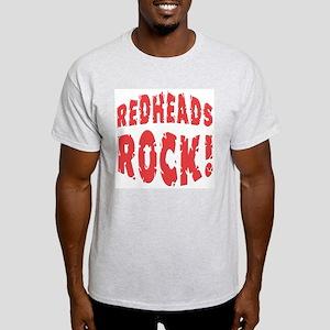 Redheads Rock Ash Grey T-Shirt