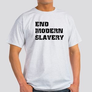 End Modern Slavery Light T-Shirt