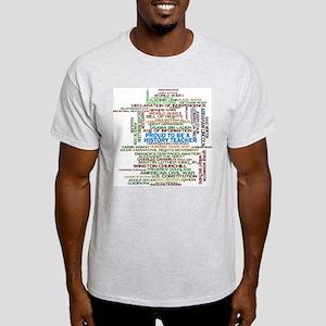Proud History Teacher Light T-Shirt