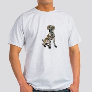 Brindle Great Dane Pup Light T-Shirt