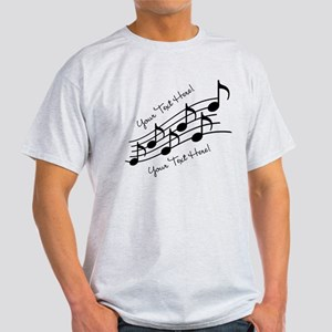 Music Notes PERSONALIZED T-Shirt