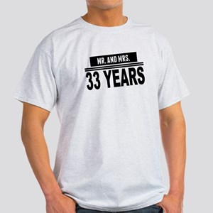 Mr. And Mrs. 33 Years T-Shirt