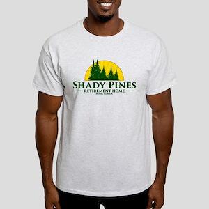 Shady Pines Logo Light T-Shirt