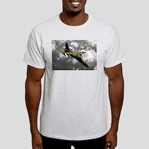 A-111 Aardvark Ash Grey T-Shirt