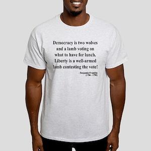 Benjamin Franklin 2 Light T-Shirt
