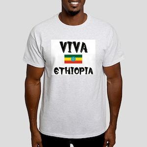 Viva Ethiopia Ash Grey T-Shirt