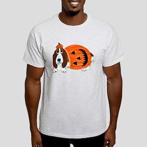 Basset Hound In Pumpkin Suit T-Shirt