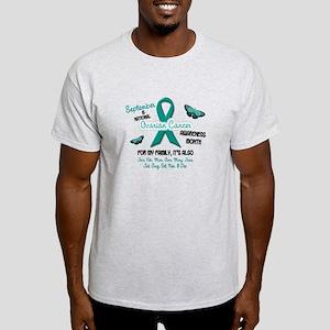 Ovarian Cancer Awareness Month 2.2 Light T-Shirt