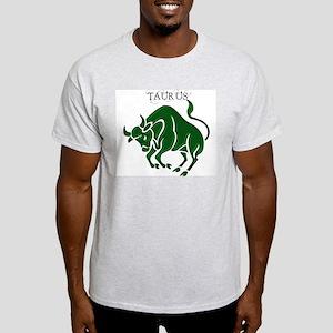 Taurus II Ash Grey T-Shirt