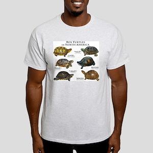 Box Turtles of North America Light T-Shirt