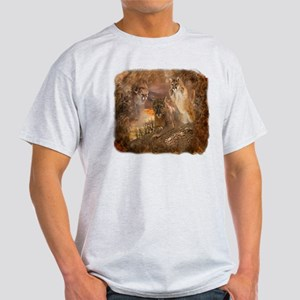 Mountain Lion Collage Light T-Shirt
