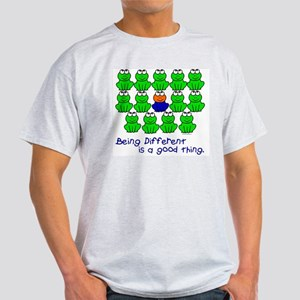 Being Different 1 (FROGS) Light T-Shirt