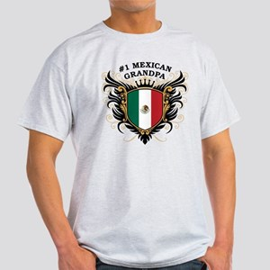 Number One Mexican Grandpa Light T-Shirt