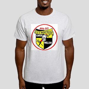 USS Montrose (APA 212) Light T-Shirt