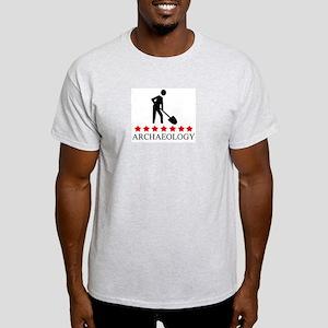 Archaeology (red stars) Light T-Shirt