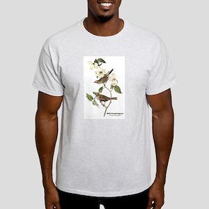 Audubon White-Throated Sparrow (Front) Light T-Shi