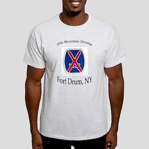 10TH MOUNTIAN DIV Light T-Shirt