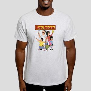 Bob's Burger Hero Family Light T-Shirt