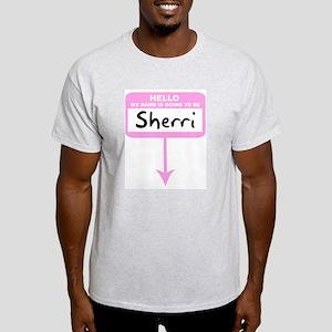Pregnant: Sherri Ash Grey T-Shirt