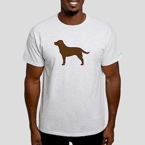 Chocolate Lab Light T-Shirt
