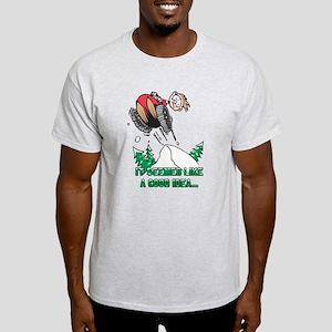 Funny Snowmobile Light T-Shirt