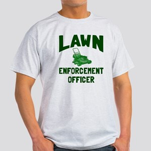 Lawn Enforcement Officer Light T-Shirt