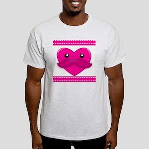 Cute Kawaii Heart Light T-Shirt
