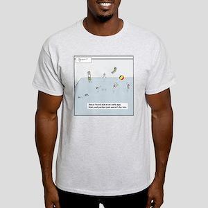 pool party tile Light T-Shirt