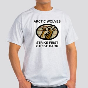 Army-172nd-Stryker-Bde-Arctic-Wolves Light T-Shirt