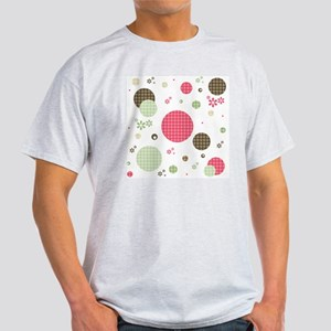 Gingham Polka Dots Daisies Light T-Shirt