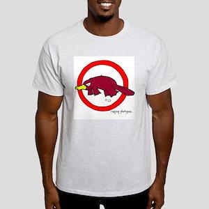 raging platypus Ash Grey T-Shirt