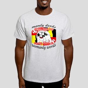 Alpha Gamma Dogs - Semper Alp Light T-Shirt