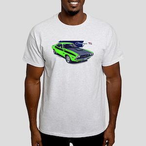Dodge Challenger Green Car Light T-Shirt