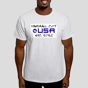 HandballCity USA Ash Grey T-Shirt