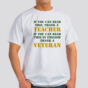 If you can read this thank teacher Light T-Shirt