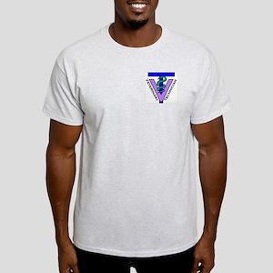 Ash Grey T-Shirt - Logo &Amp; The Perfect Fit