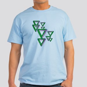 Sheldon's Penrose Triangles Light T-Shirt